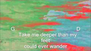 Hillsong UNITED Oceans Where Feet May Fail Lyric and chords