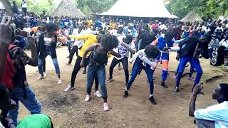 Nuer Gambella dancers group