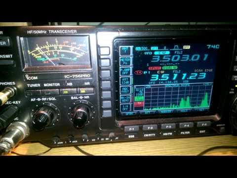 EI2KC QSO with K1N Navassa on 80m CW