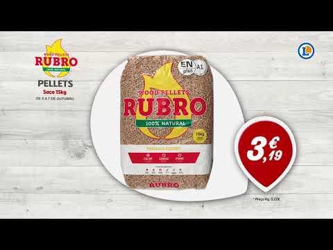 Pellets Rubro Saco 15 Kg Só 319 Eleclerc Portugal Youtube