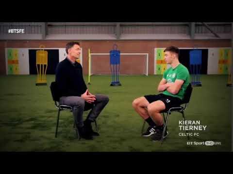 Kieran Tierney interviewed by Chris Sutton (part 1)