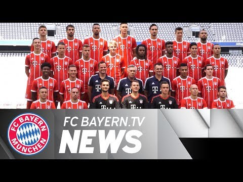 Team Photo Session in the Allianz Arena