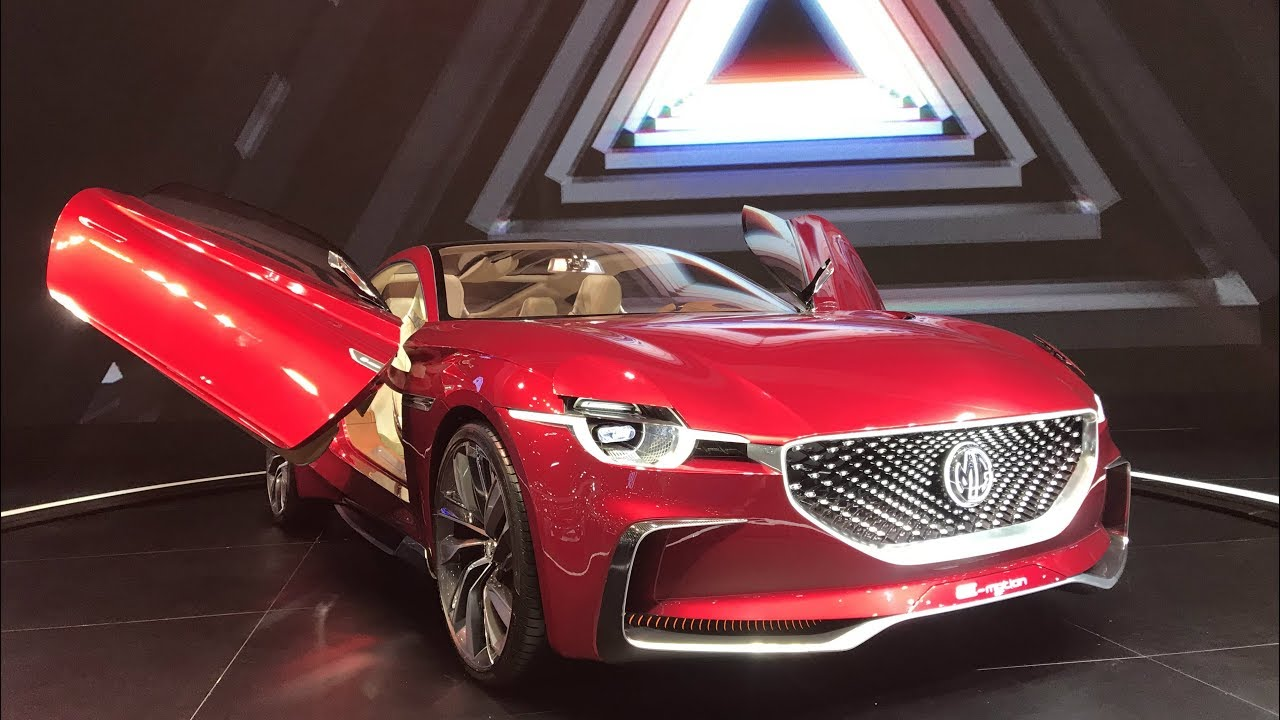2020 Ev Sports Car Mg E Motion Youtube