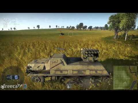 [안티노라][Antinora]워썬더(War Thunder)각 국가별 로켓탑제 탱크들을 알아보자 #1