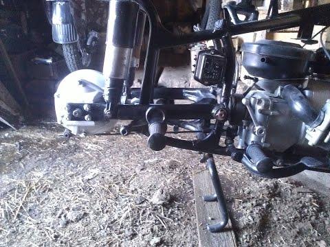 Самодельная тяга и тормоза для Урал м66