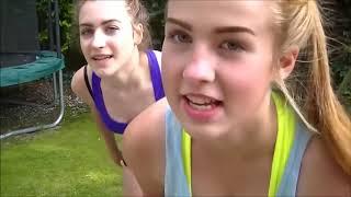 YOGA CHALLENGE Two Girls