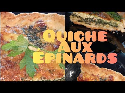 quiche-aux-Épinards-كيش-بالسبانخ