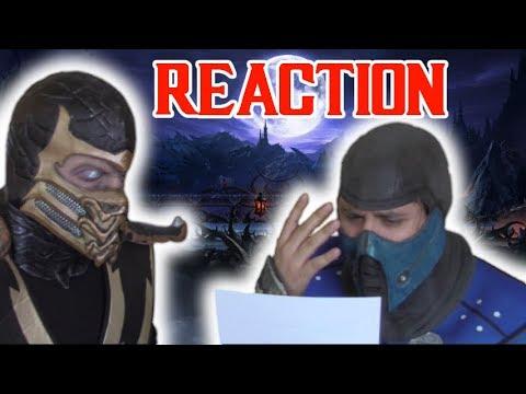 Mortal Kombat Movie Reboot: Scorpion & Sub Zero React thumbnail