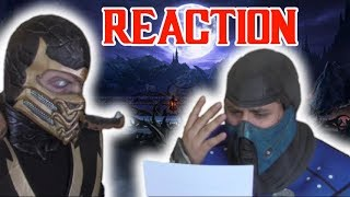 Mortal Kombat Movie Reboot: Scorpion & Sub Zero React