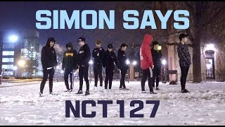 [Kpop In Public Challenge] NCT127 (엔시티) -  Simon Says Dance Cover (Cryotherapy ver.)