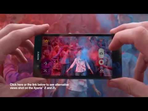 Xperia™ Z TV Ad   Sound, vision, colour, detail from Sony  Featuring music from David Bowie   Y