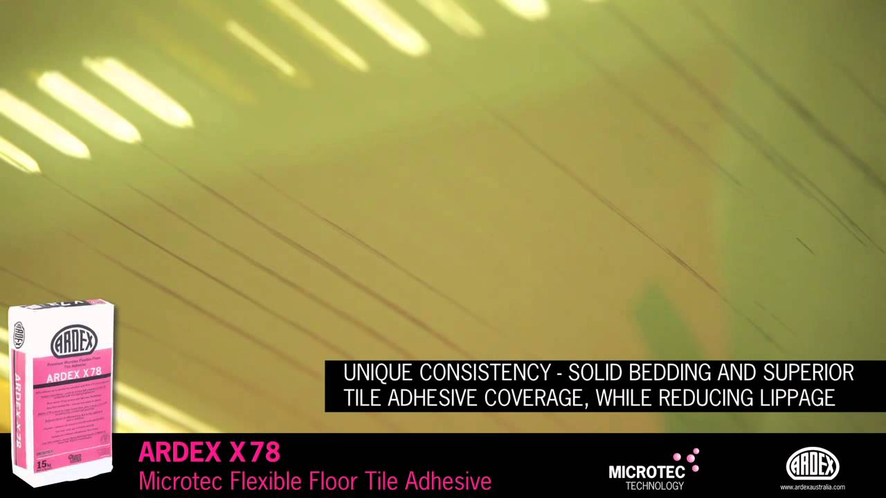 Ardex x 78 microtec flexible floor tile adhesive for large ardex x 78 microtec flexible floor tile adhesive for large format floor tiles dailygadgetfo Choice Image