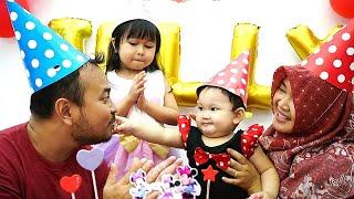 PESTA ULANG TAHUN JELLYCA Ke-1 🎂 Happy Birthday 1th Surprise Party