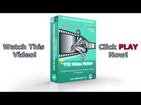 Text To Speech Video Maker Software TTS