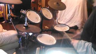 Johnny Smash Drum Cover Volbeat  Still Counting