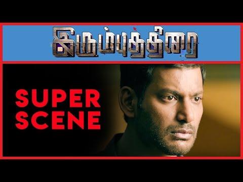 Irumbu Thirai - Super Scene 13 | Vishal | Arjun Sarja | Samantha Akkineni