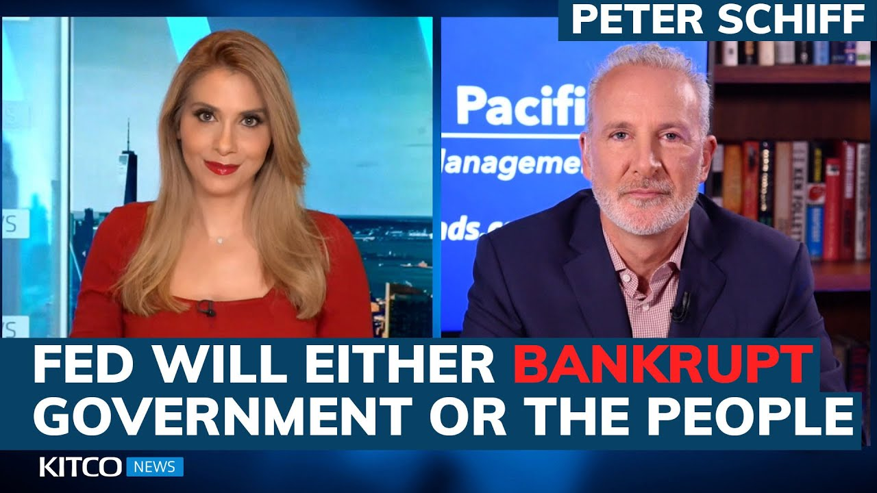 Peter Schiff: Fed is trapped; will either bankrupt the government or the American people (Pt. 1/2)