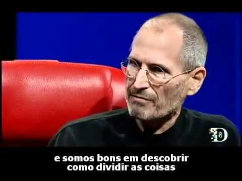 Trecho De Entrevista Com Steve Jobs Trabalho Em Equipe Legendado