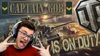 CAP'TAIN GOB IS ON DUTY ! - World of Tanks PS4