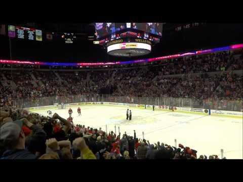 Hockey Portland Winterhawks goal at last seconds