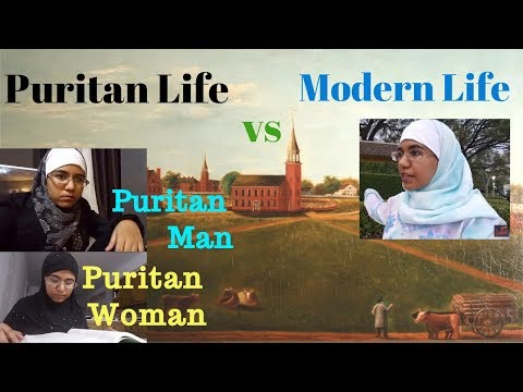The Puritans Vs. Modern Life Style