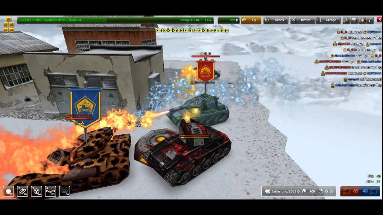 Tanki Online Island CTF Server 35 part 1 Tanki Online Free MMO ...