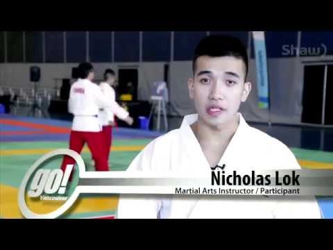 Lok's Hapkido School on TV 2014. World Martial Arts Games. Team Canada