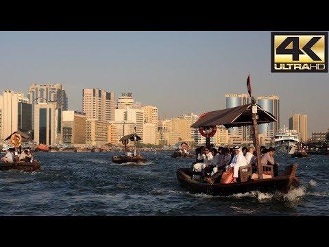 Exploring the Old city of Dubai - BUR DUBAI 4K