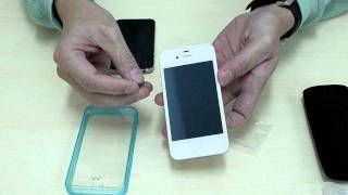 Capdase Soft Jacket Fuze DS for iPhone 4 & 4S interview movie