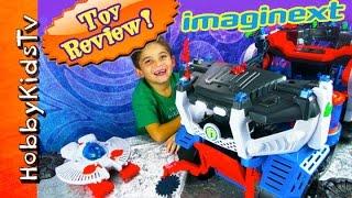 Imaginext Battle Rover Toy Review Superman Batman Flash Joker by HobbyKidsTV