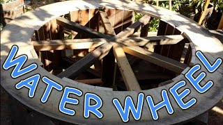 Making A Water Wheel For A Haunted Mining Area