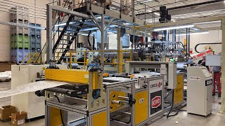First metres cast-extrusion line | KIVO Flexible Plastics