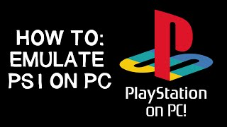 Gambar cover How to - Playstation 1 Emulator (PS1 on PC)