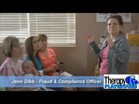 Therapy fraud and compliance program