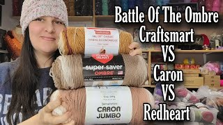 NEW Craftsmart Ombre Yarn at Michael's