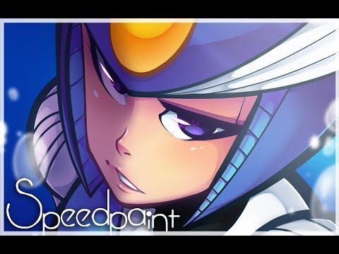 Splash Woman [Collab] [Speedpaint]