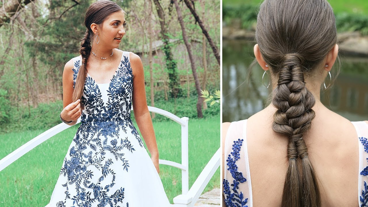 Prom Hairstyles 2019: Kamri's PROM Hair 2019 - YouTube