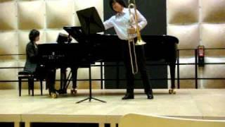 Stjepan SULEK Sonata(Vox Gabrieli) Trombone and Piano