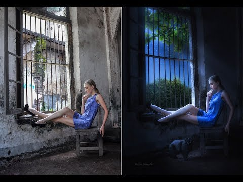 Night Effect Photoshop Tutorial - By Dheny Patungka