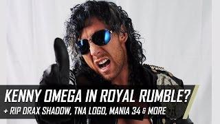 Kenny Omega Royal Rumble 2017, New TNA Logo, RIP Drax Shadow & More (Smack Talk 267 Hot Tags)