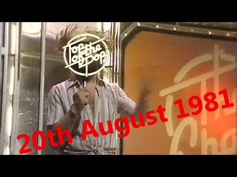 Top of the Pops Chart Rundown - 20th August 1981 (Dave Lee Travis)