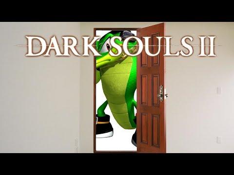 Dark Souls II Scholar of the First Sin - 7 - Lagartos não cabem na porta