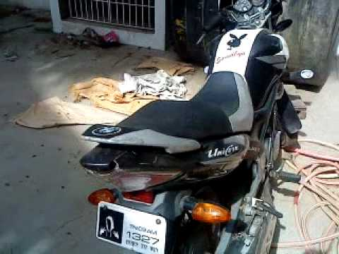 Honda unicorn modified stickering