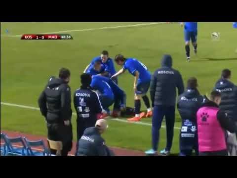 Edon Zhegrova Amazing Goal | Kosova vs Madagascar 1-0 |