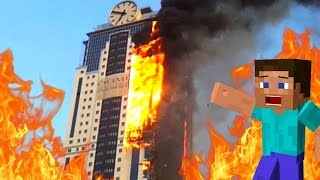 MON HOTEL EST EN FEU ! | Burning Hotel !