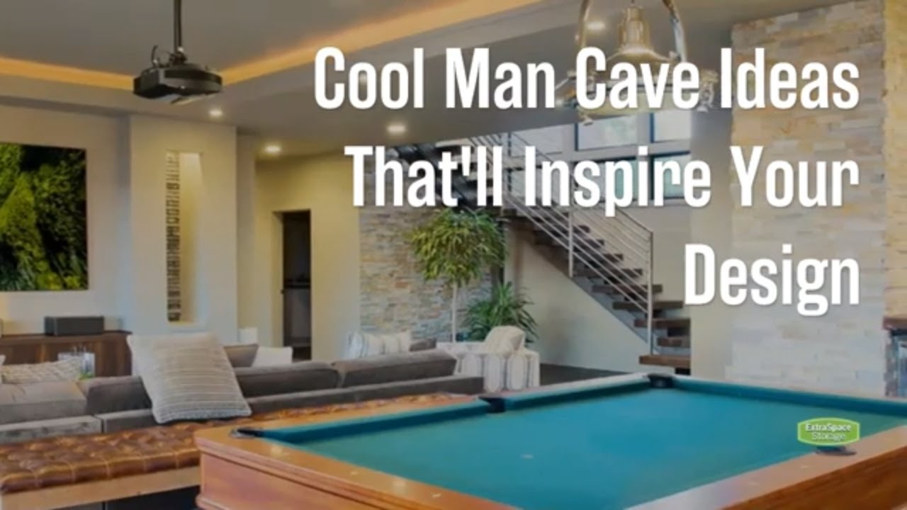 16 Cool Man Cave Ideas For Inspiration Extra Space Storage
