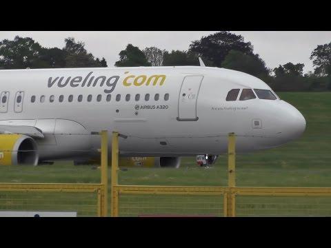 Plane Spotting at Birmingham Airport | May 21st 2016