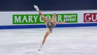 Anna Shcherbakova ISU World Figure Skating Championship 2021 Stockholm Audio Redone