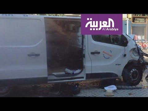 شاهد الشاحنة التي دهست المارة في برشلونة  - نشر قبل 1 ساعة