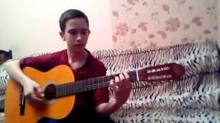 БАСТА - ВЫПУСКНОЙ( МЕДЛЯЧОК ) cover на гитаре \\ 3к подписчиков на канале!)